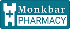 Monkbar Pharmacy York Logo